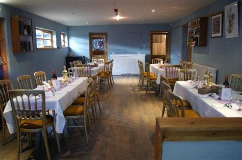 The tables for our wedding meal   Picture of Bogbain Farm
