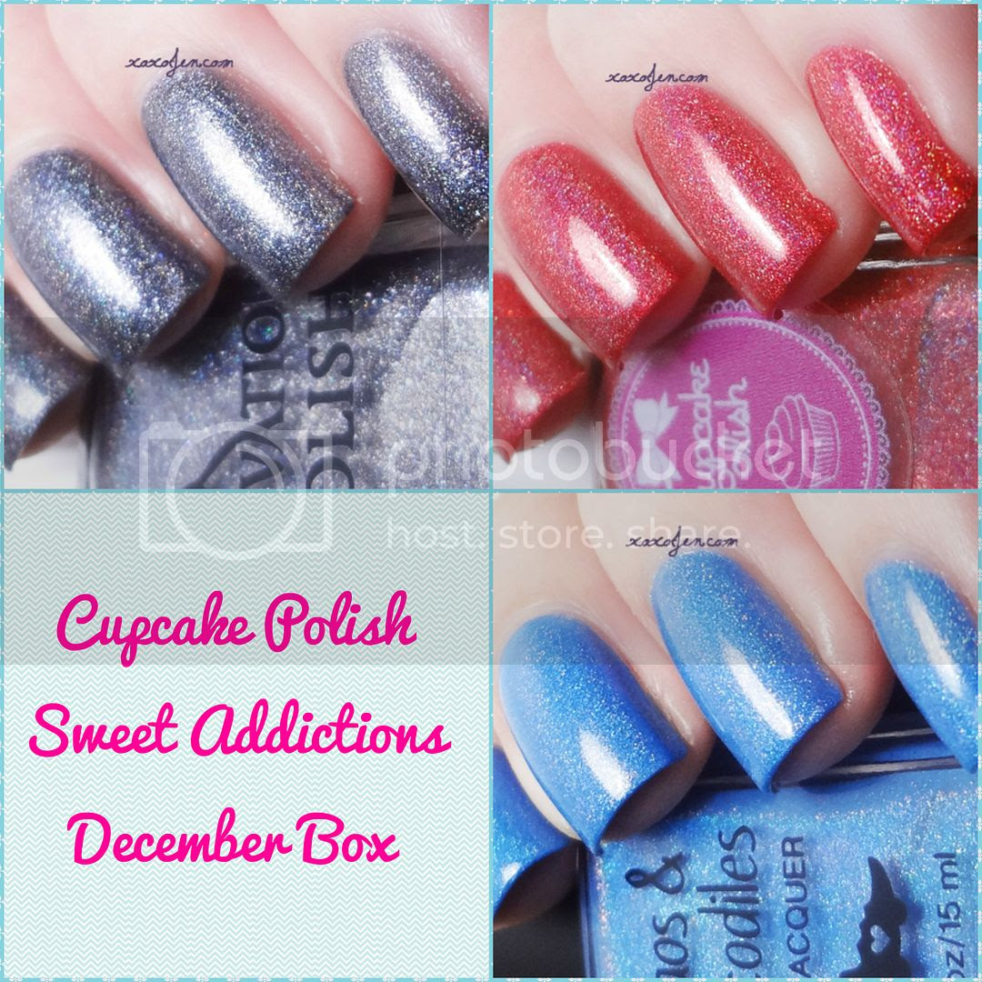 xoxoJen's collage of December Sweet Addictions Box