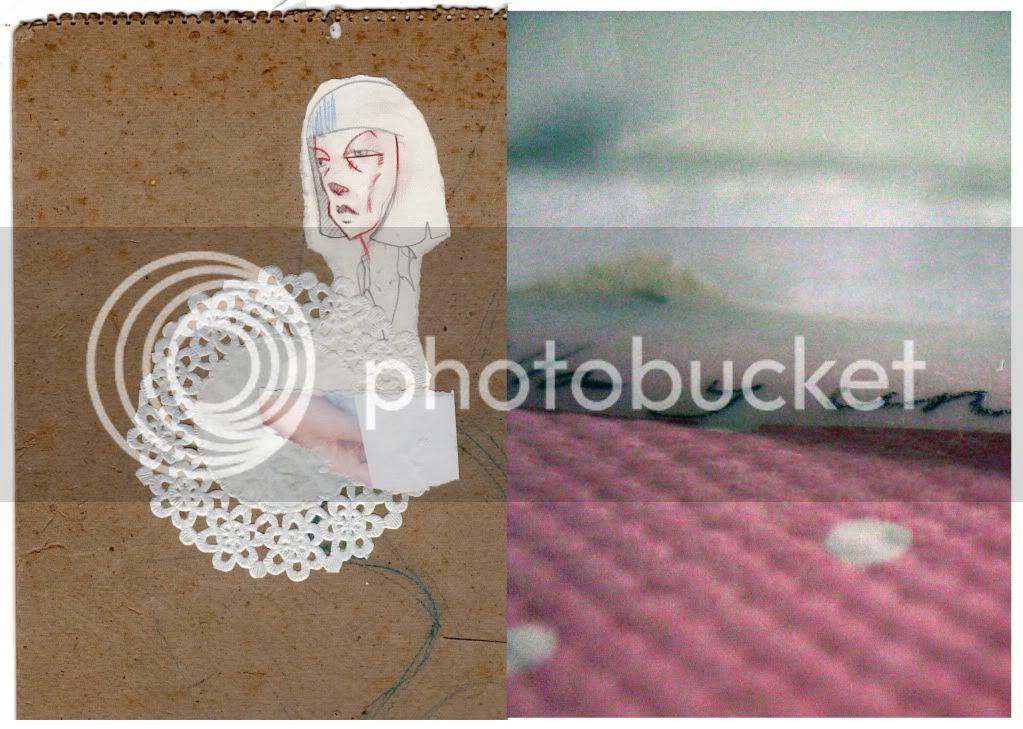 Ilustración,collage,collage,rosa,femenino,Illustration,pink,feminine
