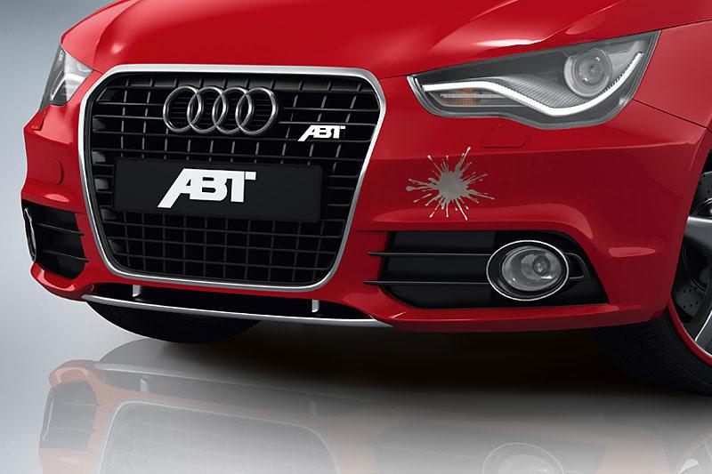 Накладка на передний бампер ABT Sportsline для Audi A1