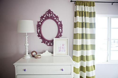 greenstripedcurtains