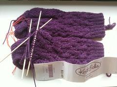 River Rapids Socks WIP