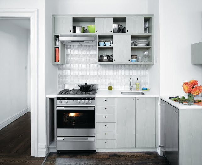 Smart & Wise space utilization for very small kitchens.