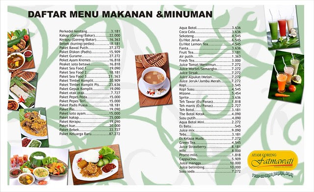 Delivery Food in Jakarta Ayam Goreng Fatmawati Delivery