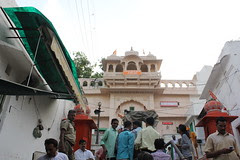 Pushkar Brahma Mandir I Was Not Allowed  Because I Am A Muslim With a Camera by firoze shakir photographerno1