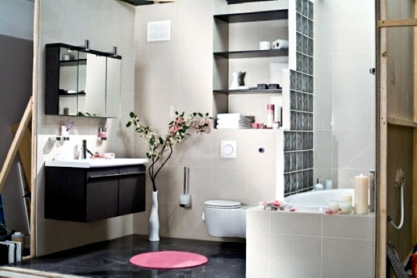 Decorating a small bathroom in Japanese style | Interior ...