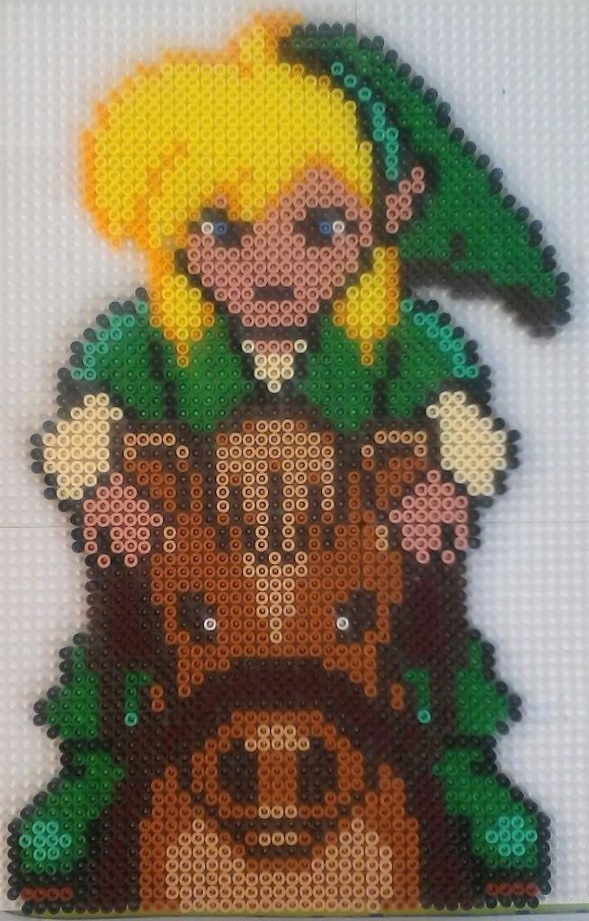 Dessin Zelda Pixel Art Dernier H
