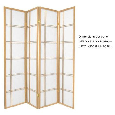 fine asianliving japanese room divider lxhcm privacy