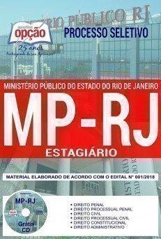 Apostila Concurso MP RJ 2018 | ESTAGIÁRIO