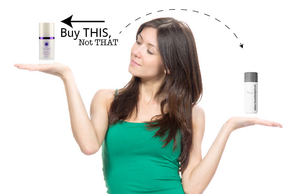 Buy This Not That Iluma Intense Brightening Exfoliator Powder Vs