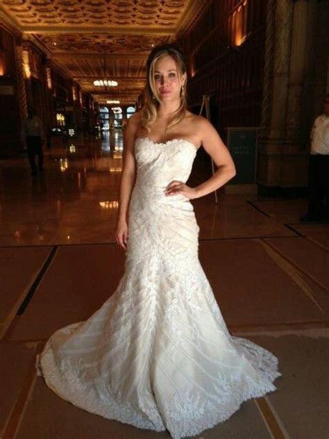 Kaley Cuoco's wedding dress in The Wedding Ringer