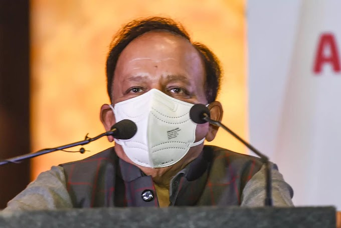 WHO honours Union health minister Harsh Vardhan for work in area of tobacco control