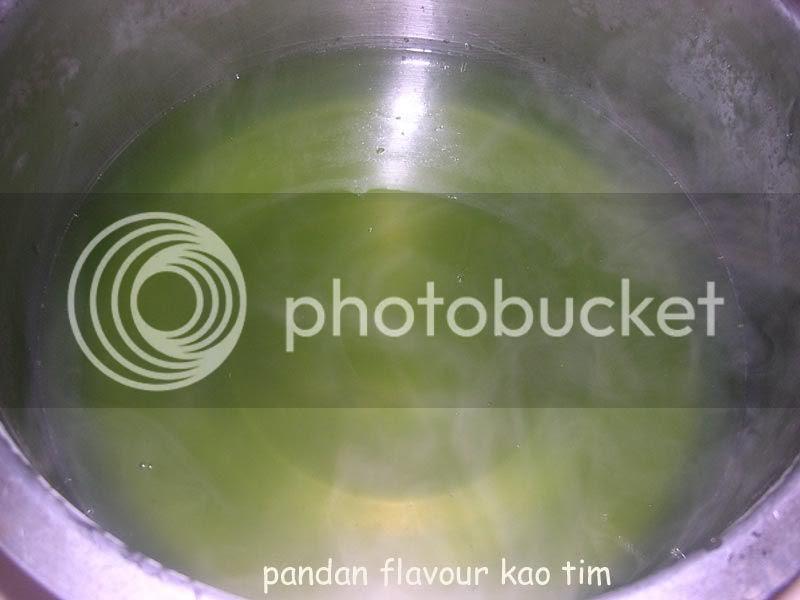 pandan flavour kao tim