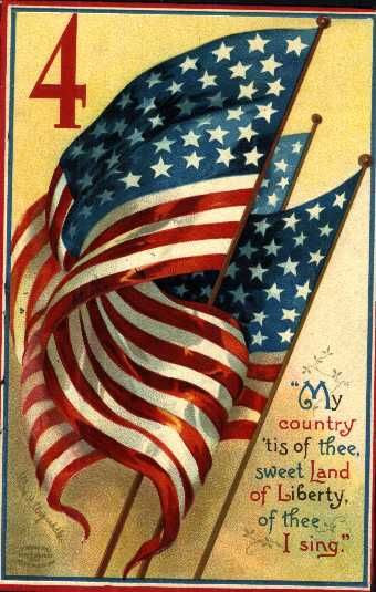 "HAPPY BIRTHDAY AMERICA!   ""I pledge allegiance to the flag of the United States of America, and to the Republic for which it stands. One nation under God, indivisible, with liberty and justice for all."""