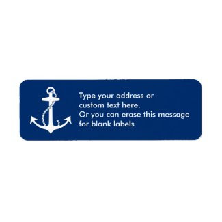 Anchor Return Address Labels