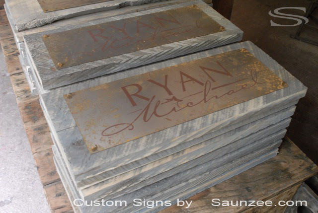 BarnWood  Signs Signage Signs Signs rustic  signs Timber Wooden barnwood Signs Metal Rustic