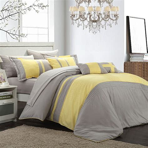 buy chic home sheila  piece bed   bag comforter set