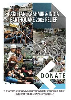 Pakistan earthquake relief