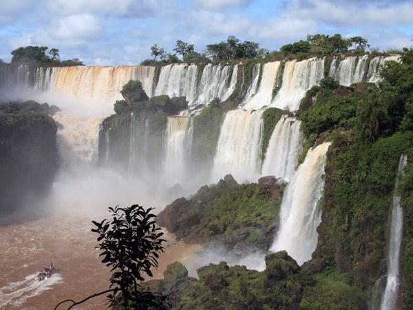 5. Rio Iguaçu, en Argentine et au Brésil
