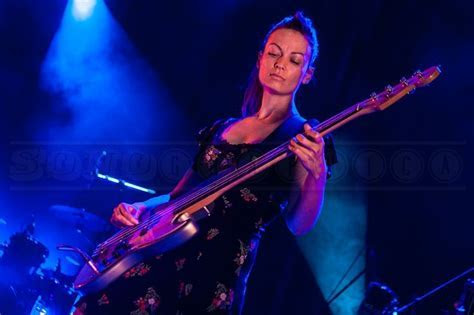 Katharine Wallinger   bassist withThe Wedding Present