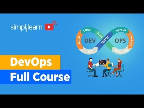 DevOps Full Course | DevOps Tutorial For Beginners | Learn DevOps From Scratch | Simplilearn
