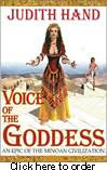 Book: Judith Hand, Voice          of the Goddess