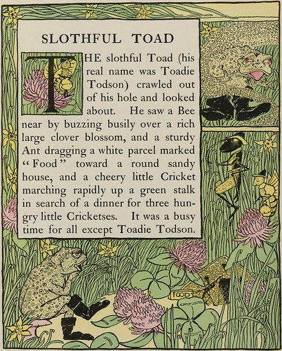 Slothful Toad