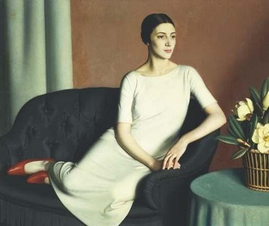 Meredith Frampton, Marguerite Kelsey, 1928
