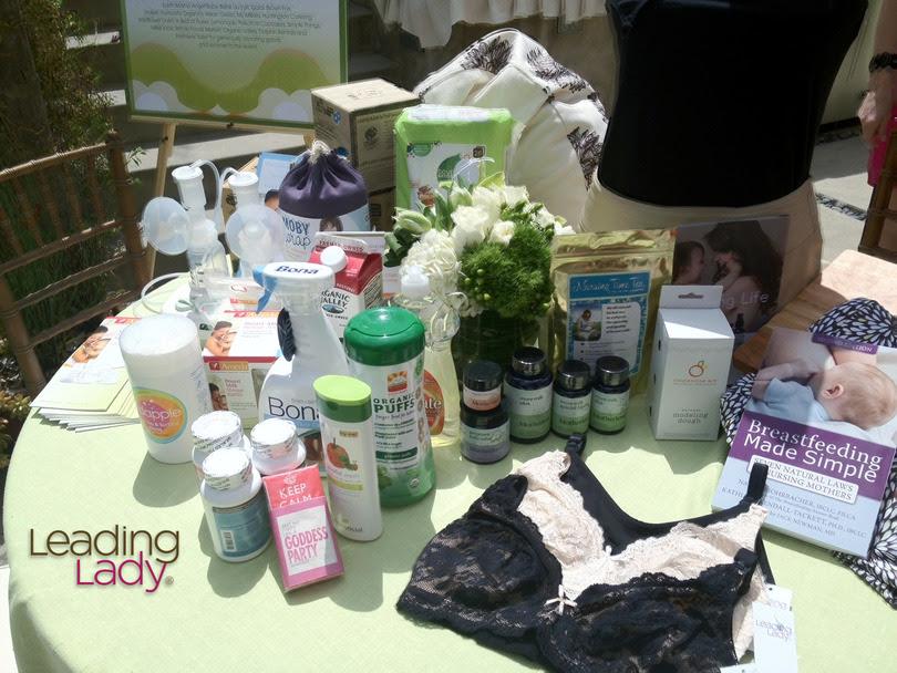 Leading Lady Celeb Breastfeeding & Toxin-Free SWAG Bag Giveaway
