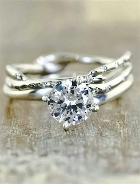 Nature Inspired Wedding Rings   Arabia Weddings