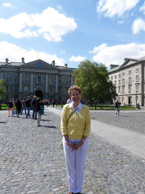 Lin in Trinity College, Dublin