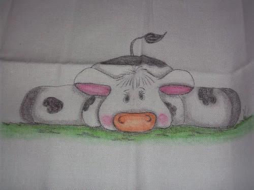 Meu pano pintado by Vera Arte em Giz