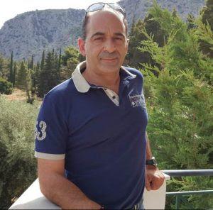 ο διευθυντής Περιφέρειας Αστακού της Νηρέας, Γιώργος Κυριακίδης