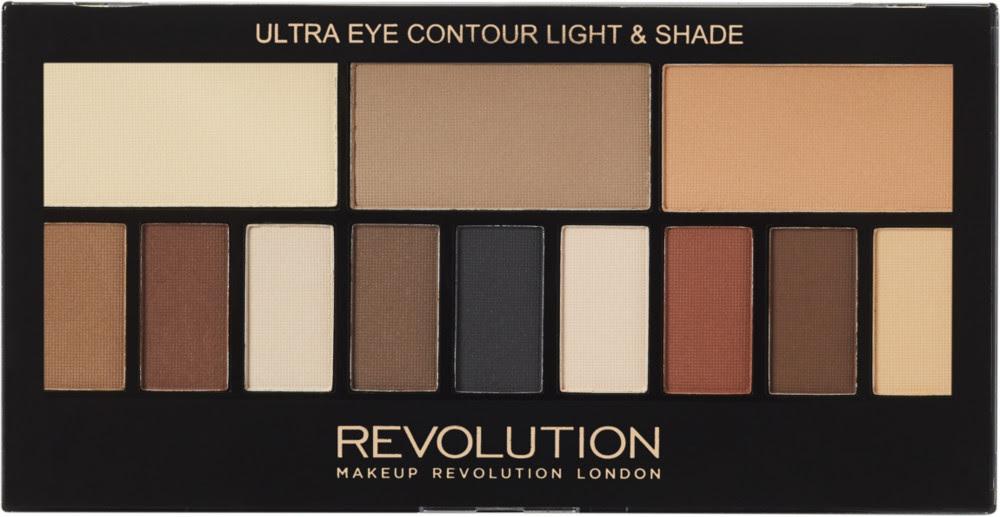 Makeup revolution light and shade palette