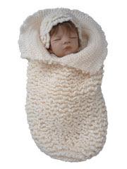 Ruffled Cocoon Crochet Pattern
