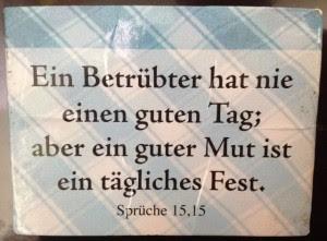 Spruch Des Tages Bibel Faq Net Stephans Blog
