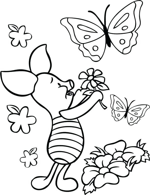 Butterfly Cartoon Coloring Pages at GetColorings.com ...