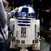 A small human encountering R2