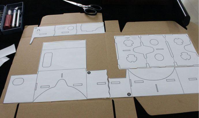 google cardboard 4
