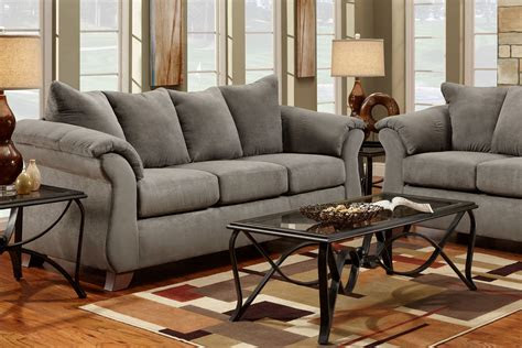 sofa clearance outlet  atwood cinnamon fabric sofa