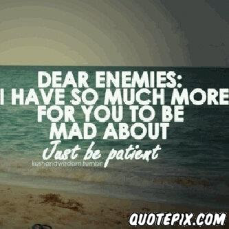 Quotes About Girl Enemies 27 Quotes
