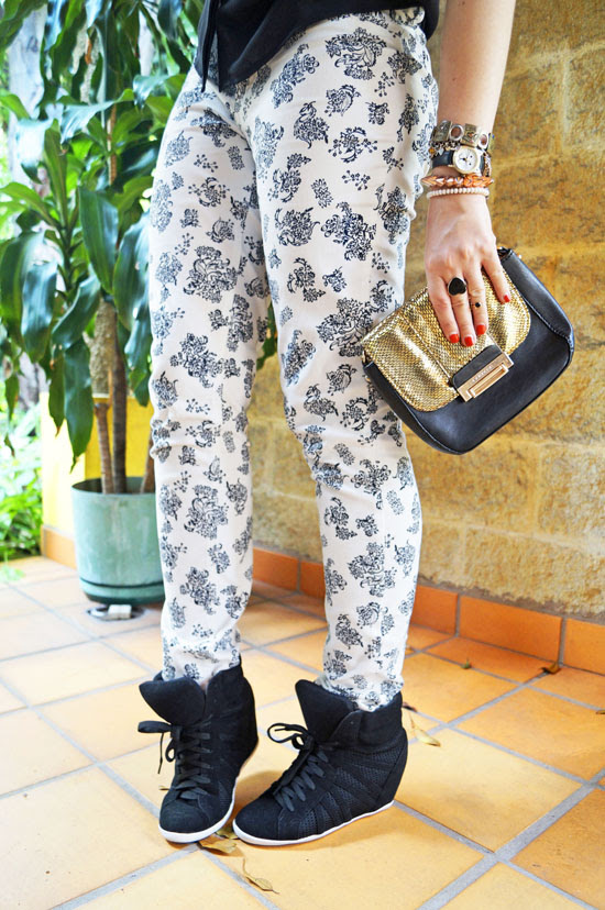 Sneaker Wedges Outfit