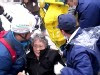 Japanese Officials Rescue Woman