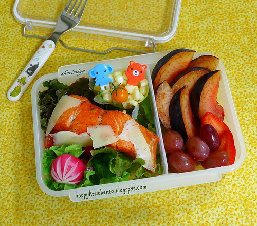 Another Salmon Bento by sherimiya ♥