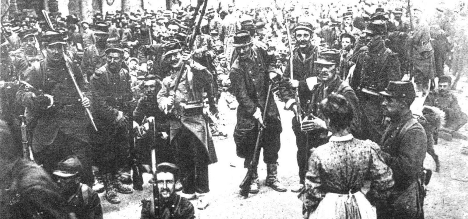 20 juin 1907: à Béziers, le 17e régiment d'infanterie met les crosses en l'air