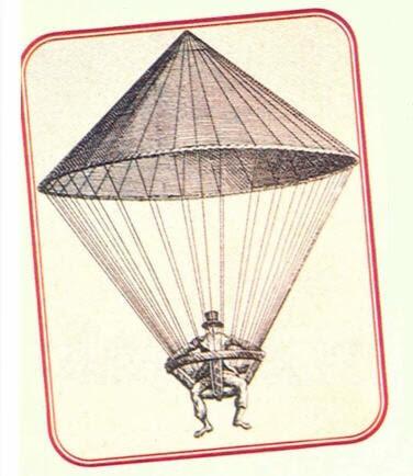Paraşütün Tarihçesi