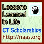 Lessons Learned in Life Scholarships for Connecticut students
