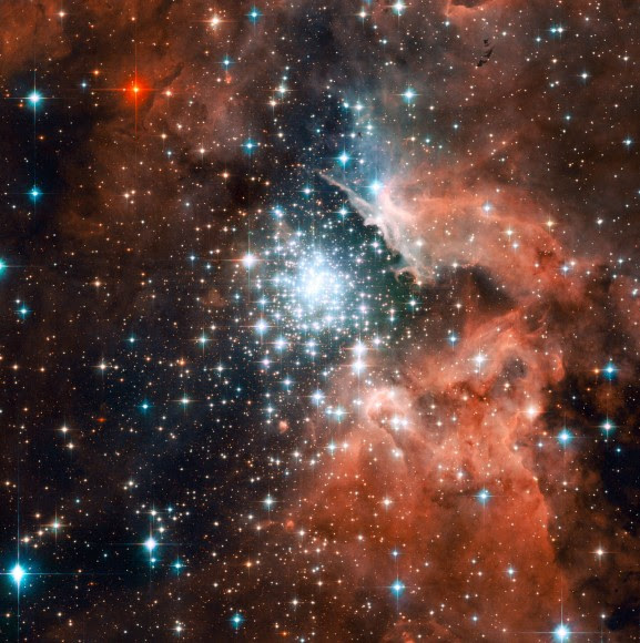 Star-forming region in interstellar space. Image credit: NASA, ESA and the Hubble Heritage (STScI/AURA)-ESA/Hubble Collaboration