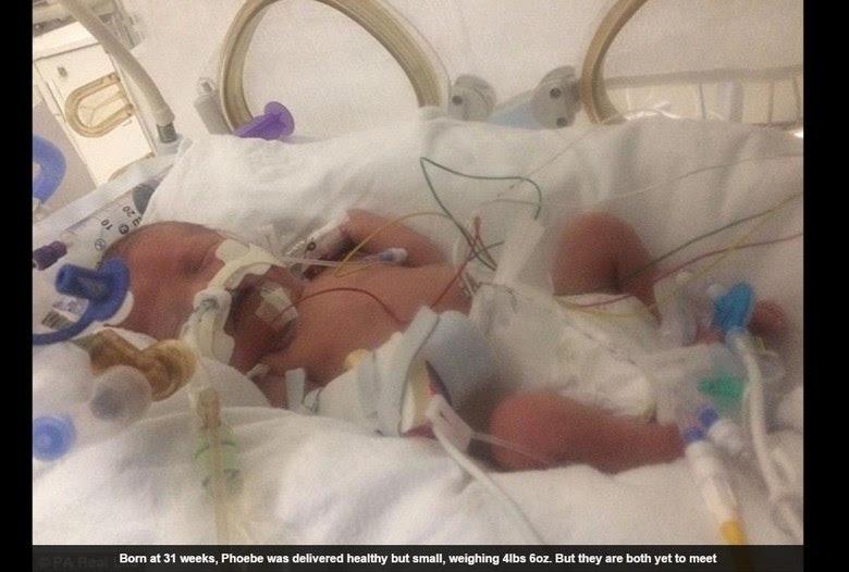 Após sofrer um infarto e morrer por seis minutos, uma mulher deu á luz terceira filha, segundo informações do Daily Mail. Elapassou por uma cesariana em coma induzido após seu coração parar de funcionar