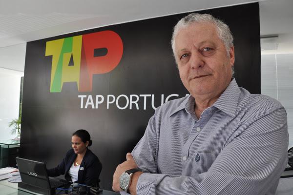 Mário Carvalho, diretor da TAP para a América Latina